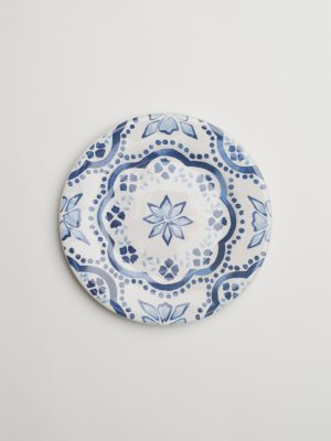 Indigo Pattern Side Plate