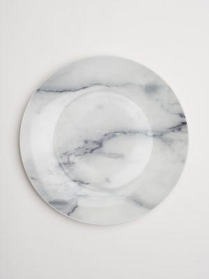 Modern Marble Dinner Plate