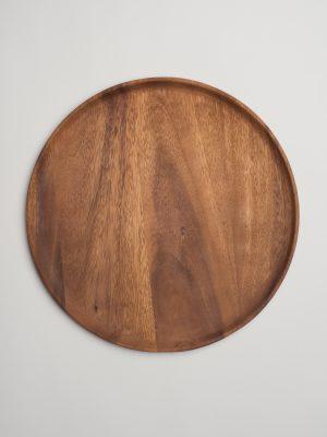 Acacia Wood Charger