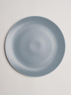 Grey Stoneware Dinner Plate
