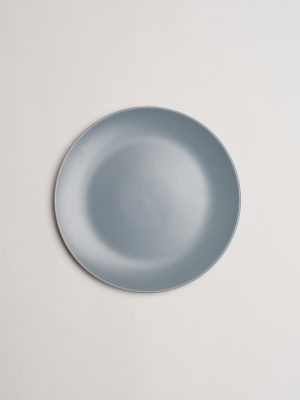 Grey Stoneware Salad Plate