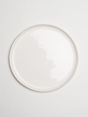 Audrey Gold Dinner Plate
