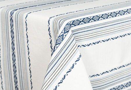 Prairie Blue & White